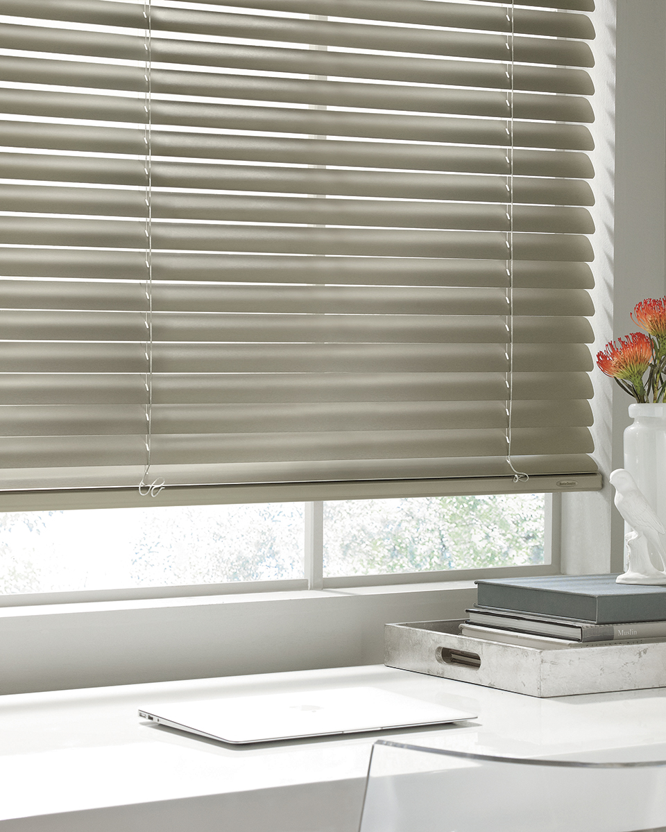 Hunter Douglas Modern Precious Metals Aluminum Blinds L2
