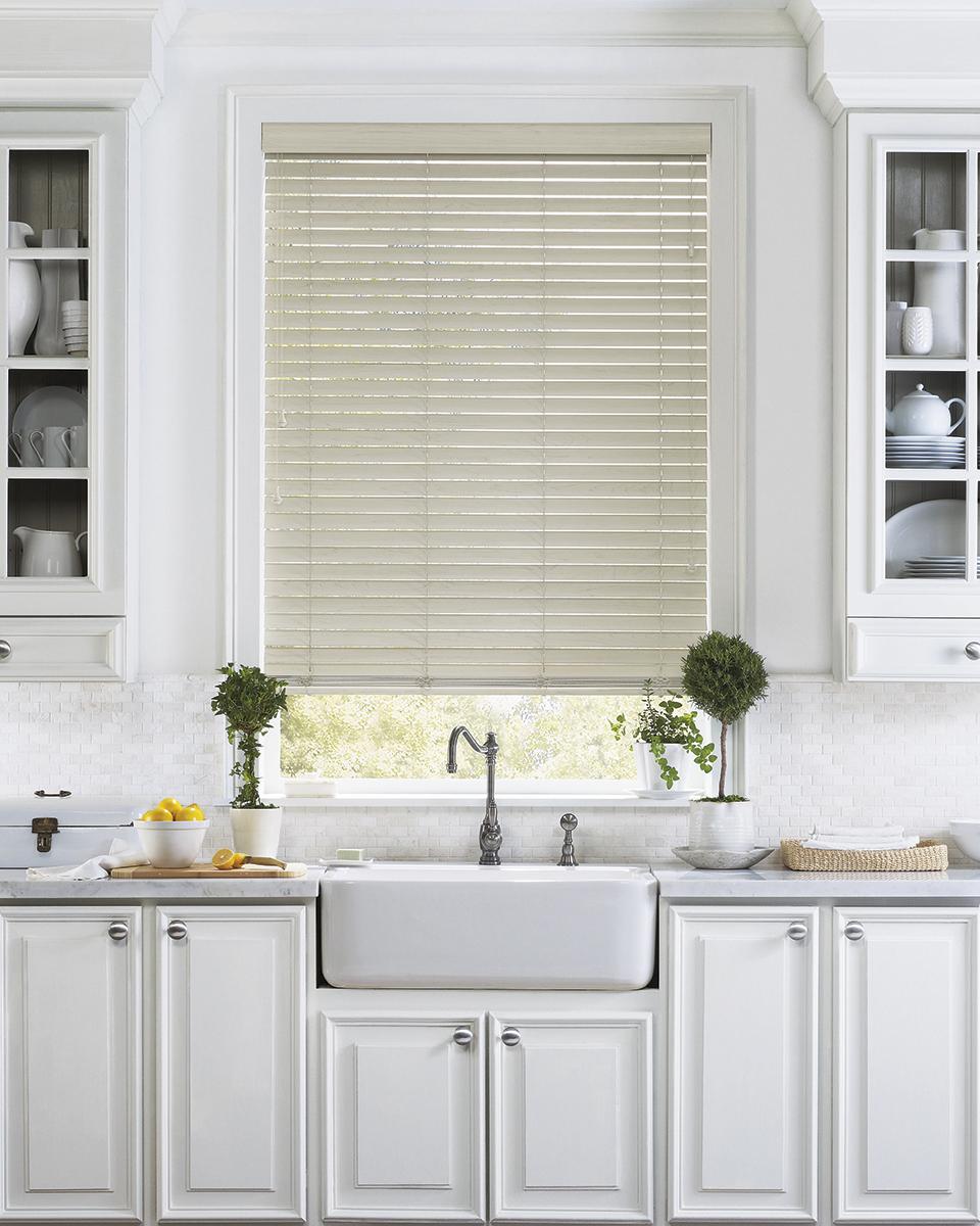 douglas wood faux metal everwood hunter horizontal category blinds treatments window