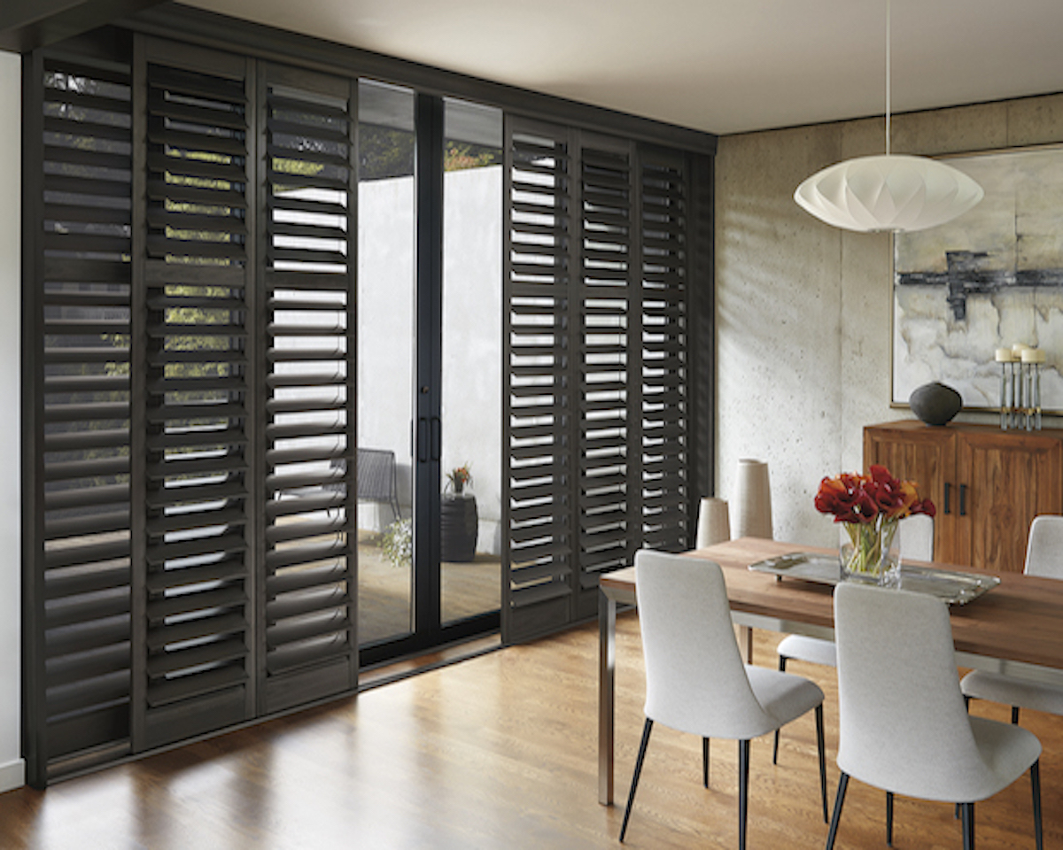 Hunter douglas newstyle hybrid shutters l2 interiors for Shutter styles