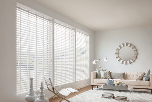Graber Faux Wood Blinds
