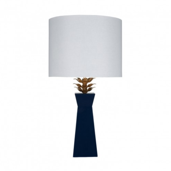 Morgan Navy Table Lamp