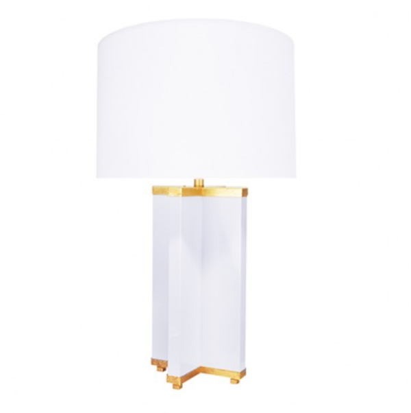 Hanover Table Lamp White