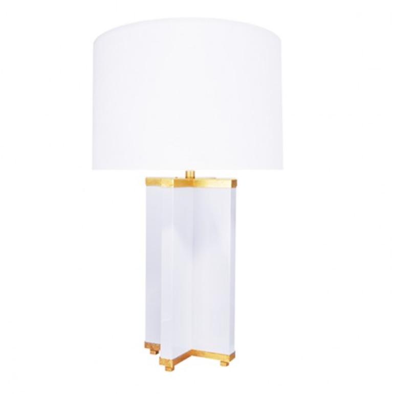 Hanover Table Lamp White