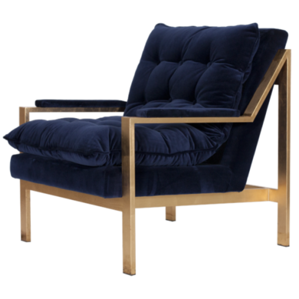CAMERON ARM CHAIR NAVY