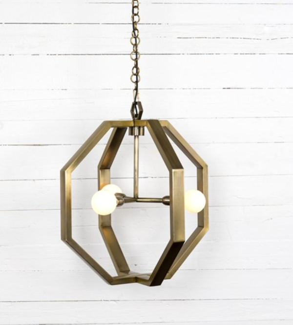 Antique Brass Pendant