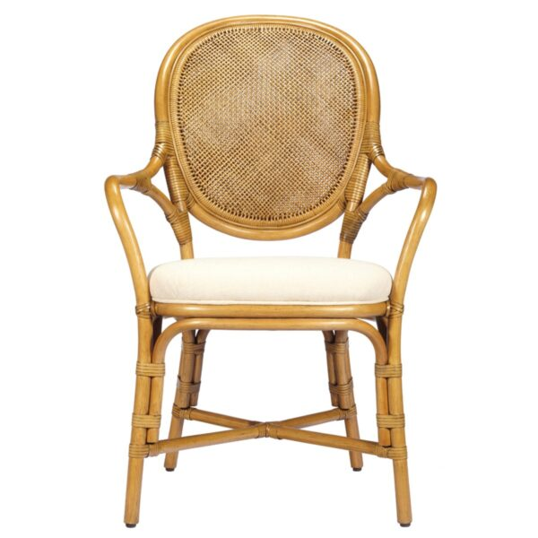 Dahlia Arm Chair – Nutmeg