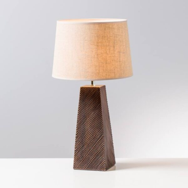 Etched Resin Table Lamp 960079A-2