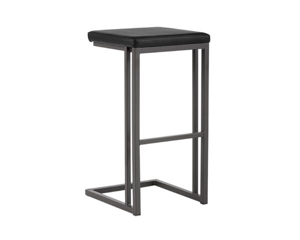 Boone Counter Stool Grey Onyx