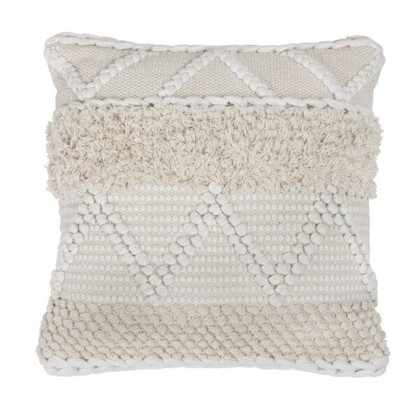 BOHEMIAN MACRAME CUSHION