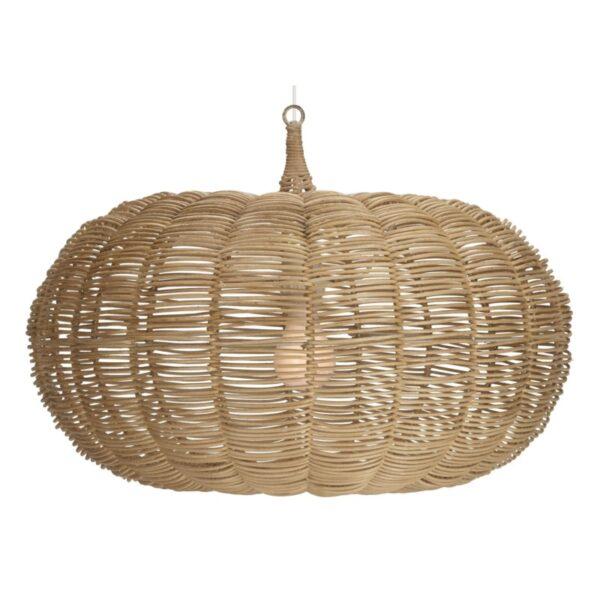 Large Calabash Hanging Pendant – Natural