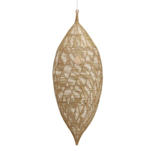 Small Calabash Hanging Pendant – Natural
