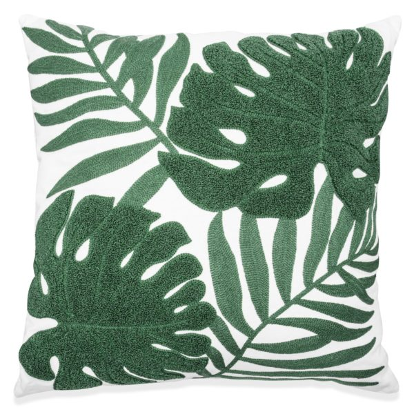 Tropical Leaf Pillow