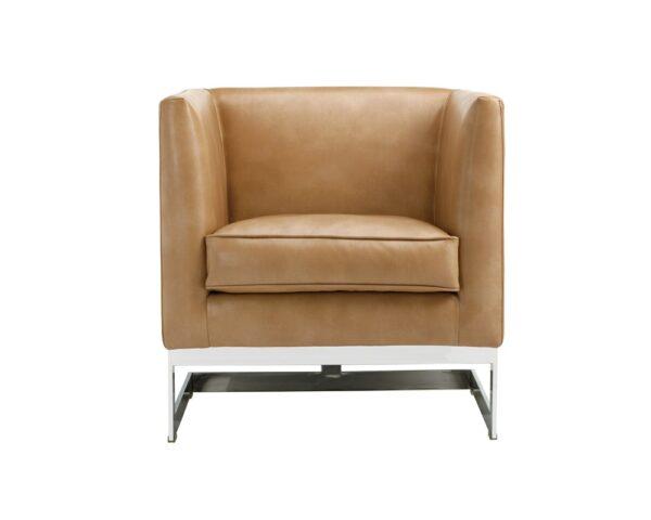 Soho Arm Chair – Peanut Leather