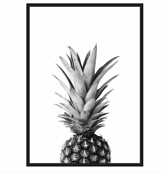 pineapple canvas
