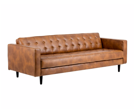 Donnie Sofa Tobacco Tan