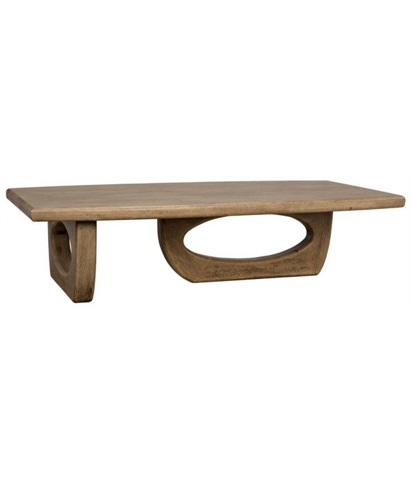 Douglas Coffee Table – Bleached Walnut